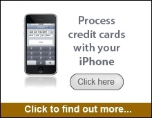 wireless iphone credit card processing terminal solution